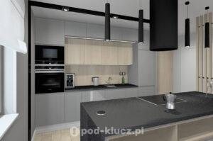 pod klucz projekt kuchnia